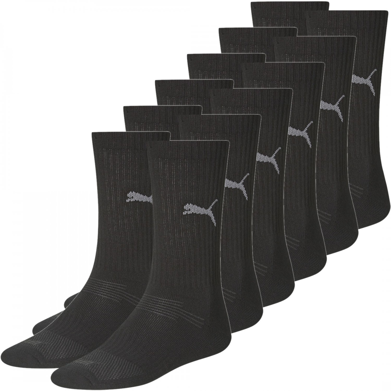 6 paar puma socken herren sport str mpfe coolmax freizeit. Black Bedroom Furniture Sets. Home Design Ideas