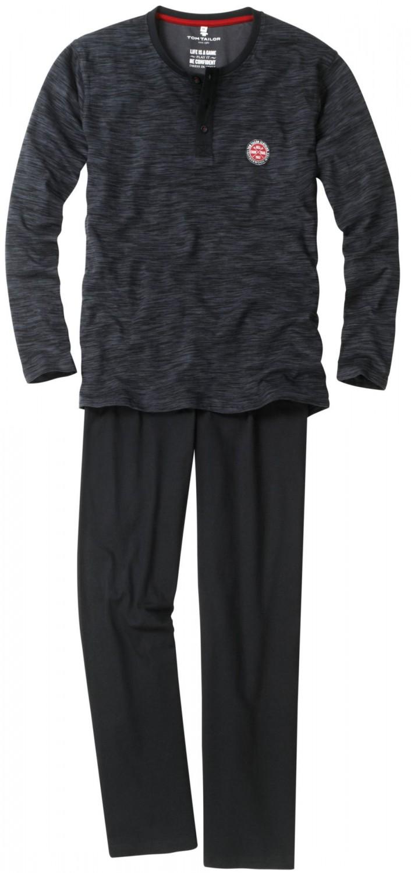 tom tailor pyjama herren rundhals gekn pft serafino. Black Bedroom Furniture Sets. Home Design Ideas