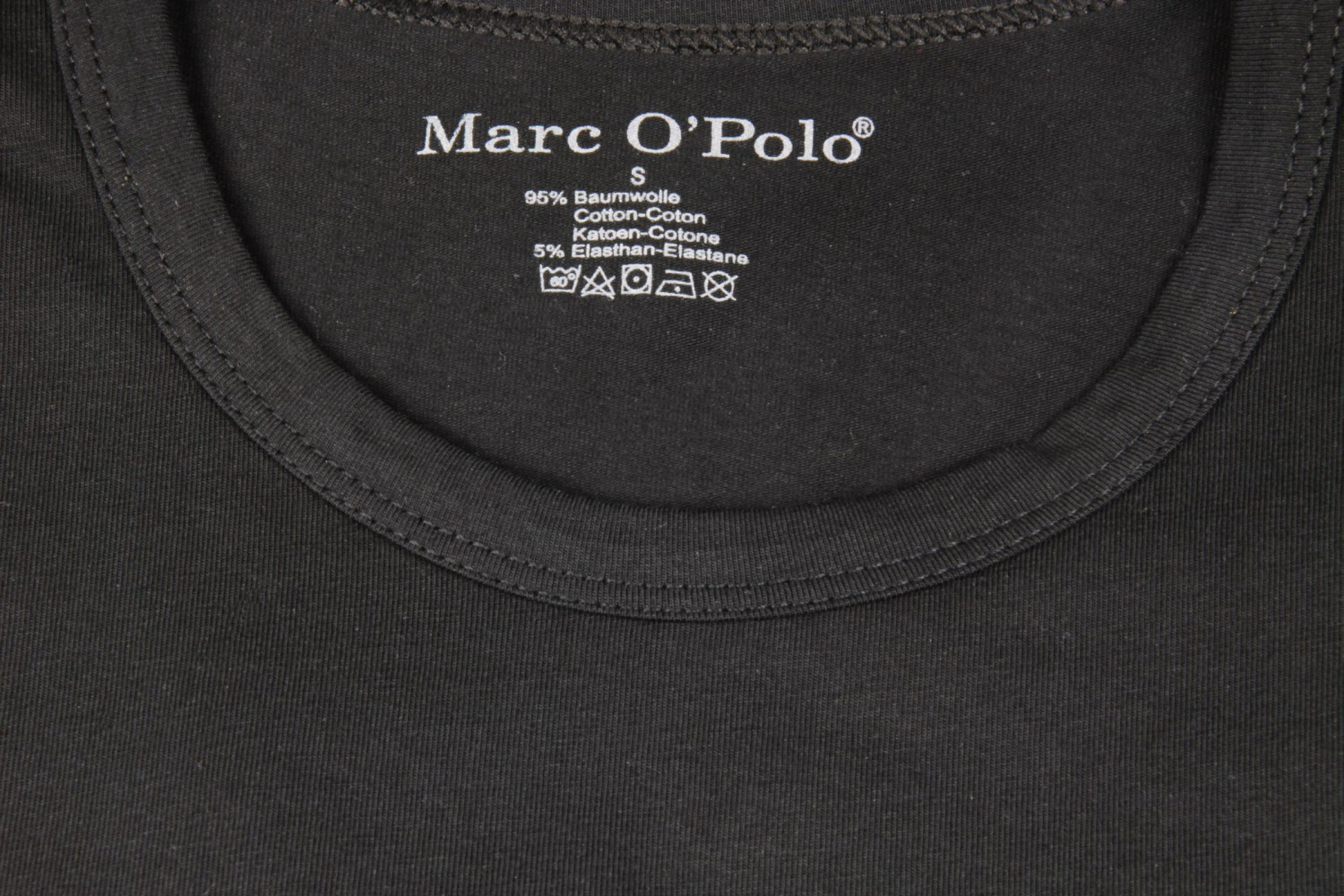 2 er pack marc o polo t shirt rundhals schwarz s m l. Black Bedroom Furniture Sets. Home Design Ideas